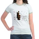 Confetti Streetlight Jr. Ringer T-Shirt