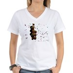 Confetti Streetlight Women's V-Neck T-Shirt