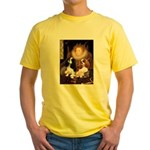 The Queens Cavalier Pair Yellow T-Shirt