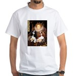 The Queens Cavalier Pair White T-Shirt