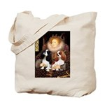The Queens Cavalier Pair Tote Bag