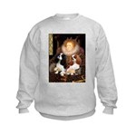 The Queens Cavalier Pair Kids Sweatshirt