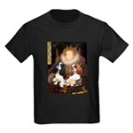 The Queens Cavalier Pair Kids Dark T-Shirt