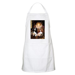 The Queens Cavalier Pair Apron