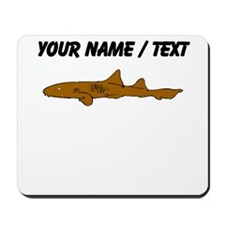 Custom Zebra Shark Mousepad