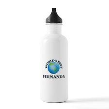 World's Best Fernanda Water Bottle