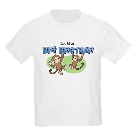 Big Brother (Monkey) Kids Light T-Shirt