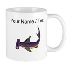 Custom Purple Hammerhead Shark Mugs