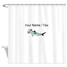 Custom Hammerhead Shark Shower Curtain