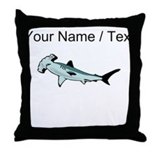 Custom Hammerhead Shark Throw Pillow