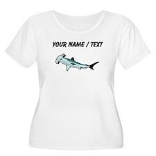Custom Hammerhead Shark Plus Size T-Shirt