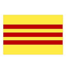Flag of Vietnam Postcards (Package of 8)