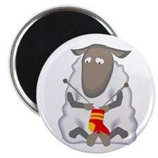 """Knitting Sheep"" Magnet"