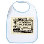 Gold Express Clipper Ships Bib