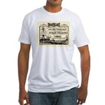 Gold Express Clipper Ships Fitted T-Shirt