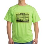 Gold Express Clipper Ships Green T-Shirt