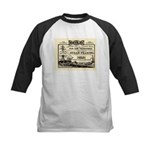Gold Express Clipper Ships Kids Baseball Jersey