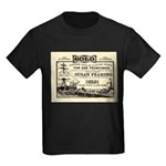 Gold Express Clipper Ships Kids Dark T-Shirt