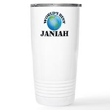 World's Best Janiah Travel Mug