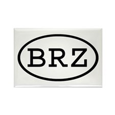 BRZ Oval Rectangle Magnet (10 pack)