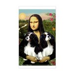 Mona's 2 Cavaliers Sticker (Rectangle)