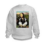 Mona's 2 Cavaliers Kids Sweatshirt