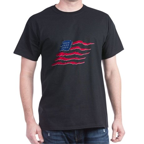 Stars and Stripes Dark T-Shirt