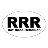 RRR Oval Decal