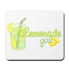 Lemonade Girl Mousepad
