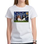 Starry Cavalier Pair Women's T-Shirt