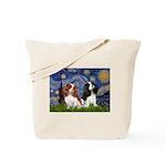 Starry Cavalier Pair Tote Bag