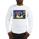 Starry Cavalier Pair Long Sleeve T-Shirt