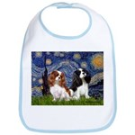 Starry Cavalier Pair Bib