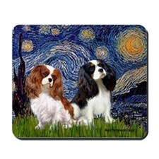 Starry Cavalier Pair Mousepad