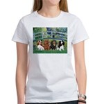 Bridge & 4 Cavaliers Women's T-Shirt