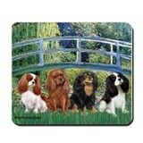 Bridge &amp; 4 Cavaliers Mousepad