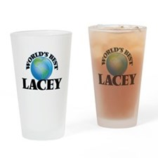 World's Best Lacey Drinking Glass