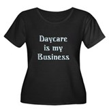 Daycare Teacher Women's Plus Size Scoop Neck Dark