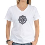 Maine State Police Women's V-Neck T-Shirt