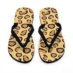 Leopard Spots Animal Skin Flip Flops