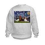 Starry / 4 Cavaliers Kids Sweatshirt