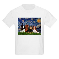 Starry / 4 Cavaliers Kids Light T-Shirt