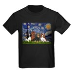Starry / 4 Cavaliers Kids Dark T-Shirt