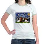 Starry / 4 Cavaliers Jr. Ringer T-Shirt