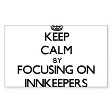 Keep Calm by focusing on Innkeepers Decal