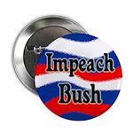 Patriotic Impeach Bush Button