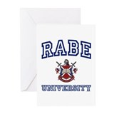 RABE University Greeting Cards (Pk of 10)