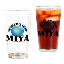 World's Best Miya Drinking Glass