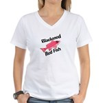 New Orleans Food: Gumbo Women's V-Neck T-Shirt