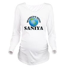 World's Best Saniya Long Sleeve Maternity T-Shirt